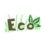 Eco illustration Stock Images