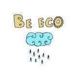 Eco illustration Stock Images