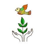 Eco illustration Royalty Free Stock Photo