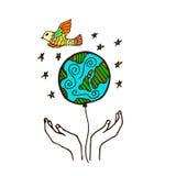 Eco illustration Royalty Free Stock Image