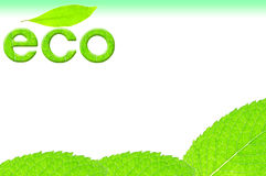 Eco image stock photography