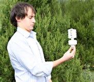 Eco-indivíduo Fotografia de Stock
