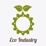 Eco industry design Royalty Free Stock Photos
