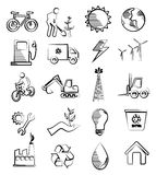 Eco and industry Stock Images
