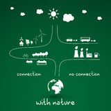 Eco Infographic Design Stock Photos