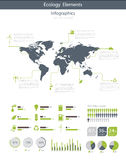 Eco Infographic elements Stock Photos