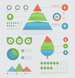 Eco infographic elements. Royalty Free Stock Image