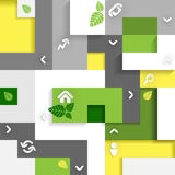 Eco Infographic Elements. Royalty Free Stock Photography