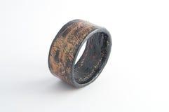 Eco Jewelry bracelet in paper mache Royalty Free Stock Photo