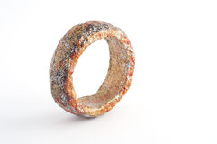 Eco Jewelry bracelet in paper mache Royalty Free Stock Photography