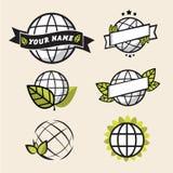 Eco jordsymbol - Royaltyfria Bilder