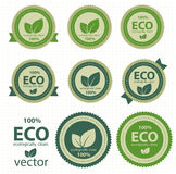 Eco Kennsätze. Lizenzfreies Stockbild