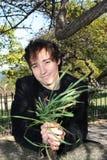 Eco-Kerl Stockbild