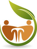 Eco kidney care logo Stock Image