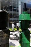 Eco konstutställning Royaltyfri Fotografi