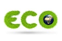 Eco Konzept Lizenzfreies Stockbild