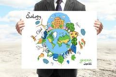 Eco Konzept Lizenzfreie Stockbilder