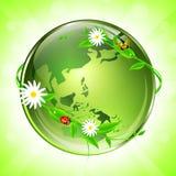 Eco Kugel Stockbild