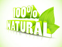 Eco label Stock Photography