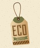 Eco label Stock Images