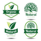 Eco label Royalty Free Stock Images