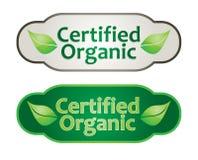 Eco label set Stock Images