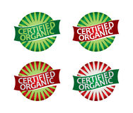 Eco label set Royalty Free Stock Images