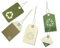 Eco labels Royalty Free Stock Photo