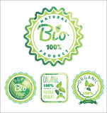 Eco Labels Bio template. Ecology theme. Stock Image