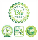 Eco Labels Bio template. Ecology theme. Royalty Free Stock Image