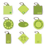 Eco Labels, Tags Royalty Free Stock Image