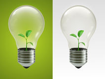 Eco Lamp Royalty Free Stock Photos