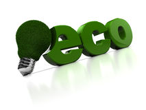 Eco Lamp Stock Photography