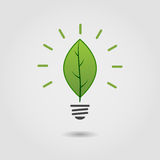 Eco lamp Stock Images