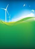 Eco landscape Royalty Free Stock Image