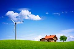 Eco landskap Royaltyfri Fotografi