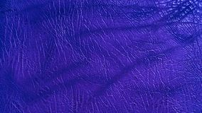 Eco leather blue-lilac color texture. Up-close Stock Image