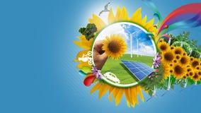 Eco Leben Lizenzfreie Stockbilder