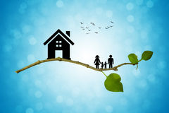 Eco life Royalty Free Stock Images