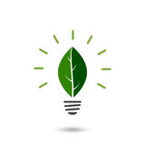 Eco lightbulb Stock Photography