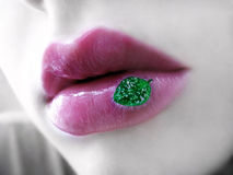 Eco Lippen Lizenzfreies Stockbild