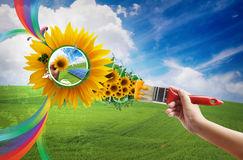 Eco living Stock Images