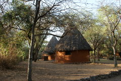 Eco-lodge. Lake Baringo, Kenya, Africa, Roberts Camp Stock Photography