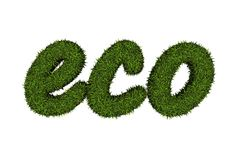 Eco logo Royalty Free Stock Photos