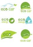 Eco logo Royaltyfri Foto