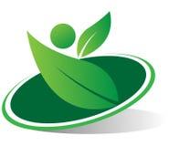 Eco logo Zdjęcia Royalty Free