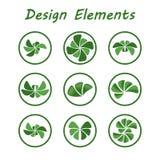 Eco logo Fotografia Stock