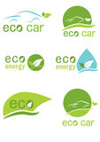Eco logo Royalty Free Stock Photo