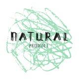 Eco Logo. Farm Product Label Royalty Free Stock Photos