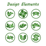Eco logo. Set of icons eco logo Stock Photography
